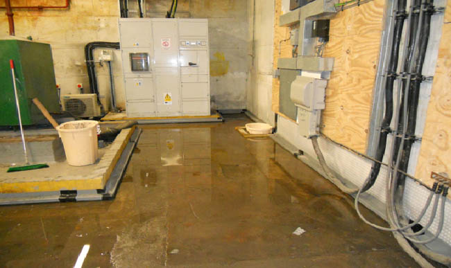 Dangers Of A Flooded Basement