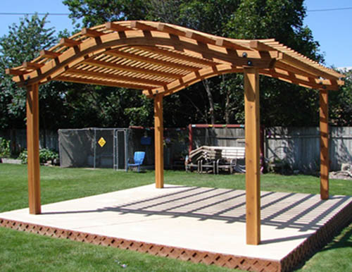 Pergola an outdoor feature that will add beauty and function to your