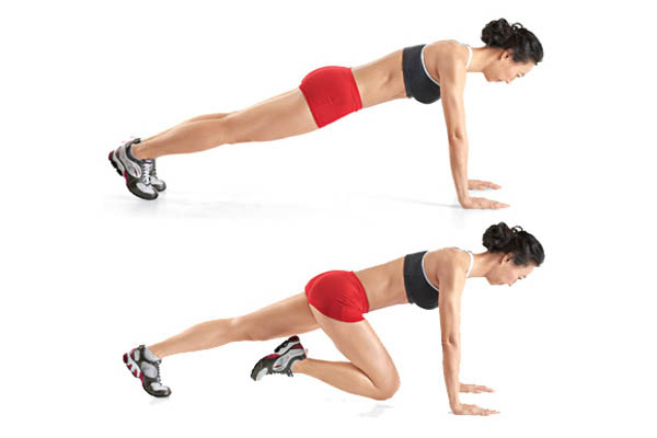 the mountain climber exercise