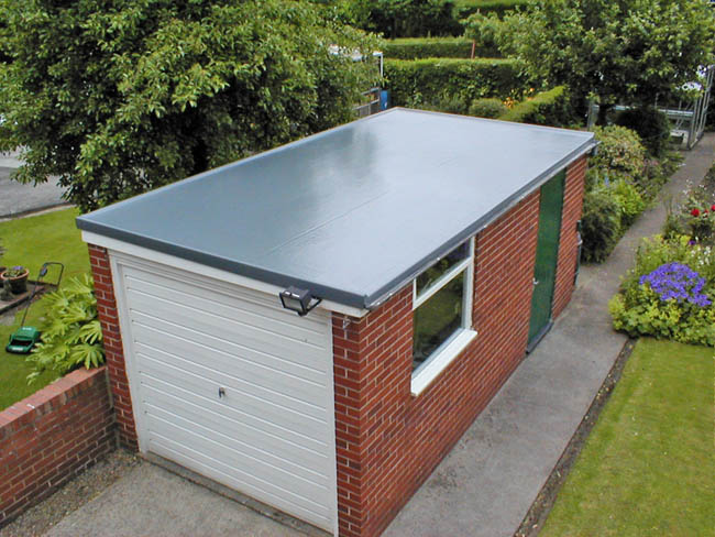 Remove Water From Your Flat Roofing System